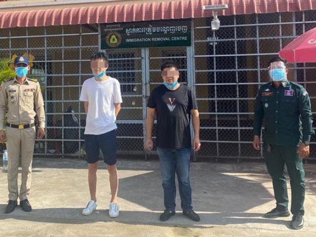 Covid-19: Hai người Trung Quốc bị bắt ở Campuchia