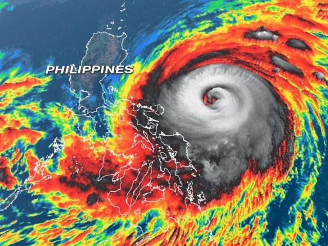 Những con số đáng sợ về siêu bão mạnh nhất lịch sử trong tháng 4