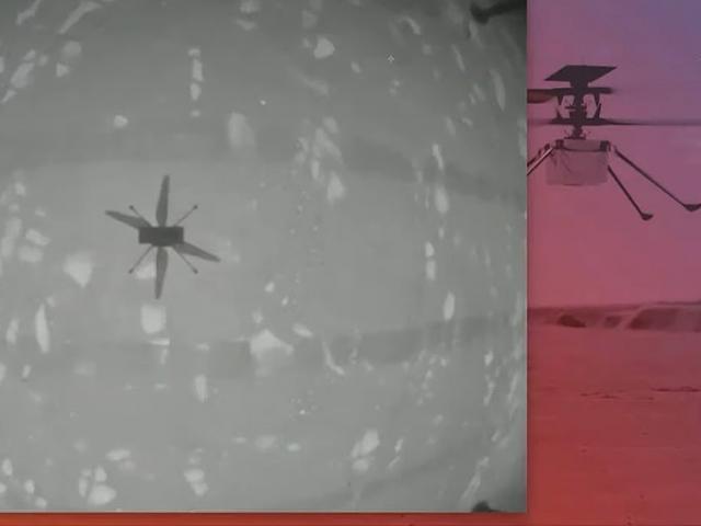 Trực thăng của NASA làm nên lịch sử với chuyến bay đầu tiên trên sao Hỏa