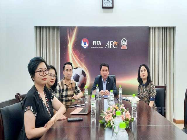 Liên đoàn bóng đá Đức trao đổi kiến thức với VFF, VPF và Next Media