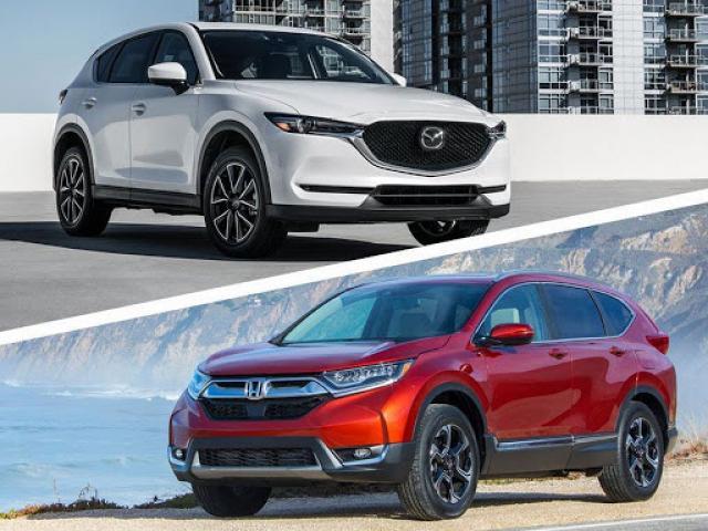 Mazda CX-5 vs Honda CR-V: Tầm giá 1 tỷ đồng bạn thích trẻ trung hay điềm đạm?