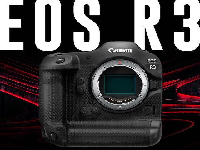 Loạt công nghệ đáng mong chờ trên máy ảnh Canon EOS R3