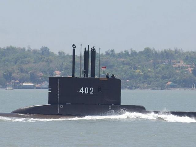 Tàu ngầm Indonesia mất tích, khẩn trương tìm kiếm