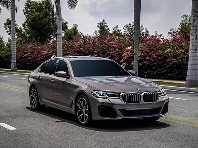 Giá lăn bánh các phiên bản BMW 5-Series vừa được ra mắt