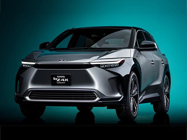 Lộ diện concept xe điện Toyota bZ4X