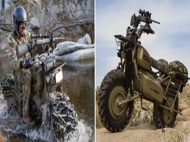 Top 5 mô tô quân sự mạnh nhất trong nghiệp nhà binh