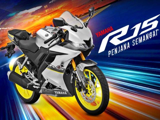2021 Yamaha YZF-R15 choàng áo mới, giá từ 67,7 triệu đồng