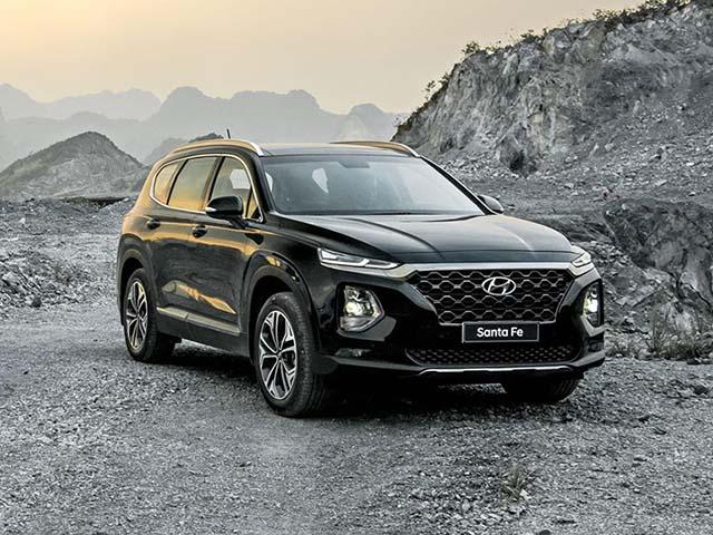 Đánh giá nhanh Hyundai Santa Fe 2.4L máy xăng, giá 995 triệu đồng