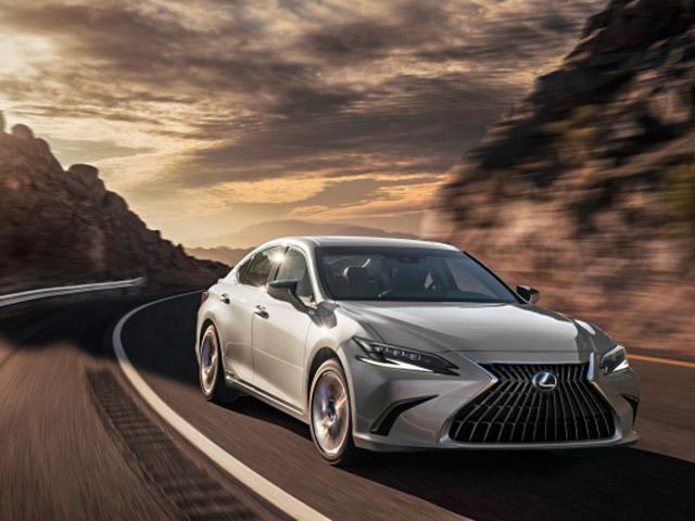 Lexus ES bản nâng cấp chính thức trình làng