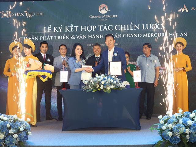 Lễ ký kết hợp tác chiến lược dự án Grand Mercure Hoi An