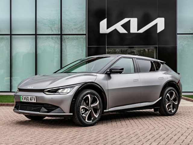 Xe điện KIA EV6 chính thức có giá bán hơn 1,3 tỷ đồng tại châu Âu