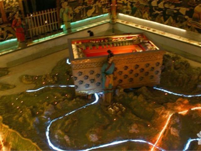 Hé lộ công dụng của dòng sông thủy ngân trong lăng mộ Tần Thủy Hoàng
