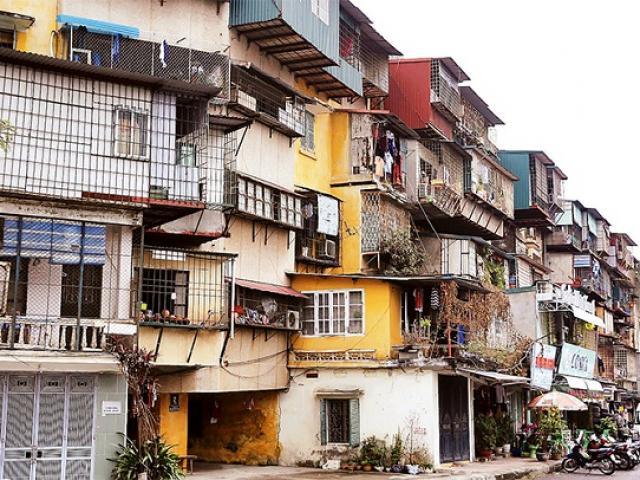 Hà Nội: 3 khu chung cư cũ chuẩn bị được cải tạo?