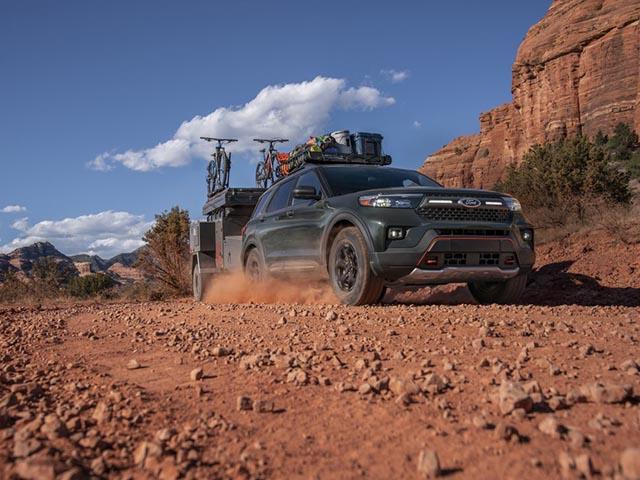 """Ford Explorer Timberline 2021 ra mắt, SUV 7 chỗ """"cân"""" mọi địa hình"""