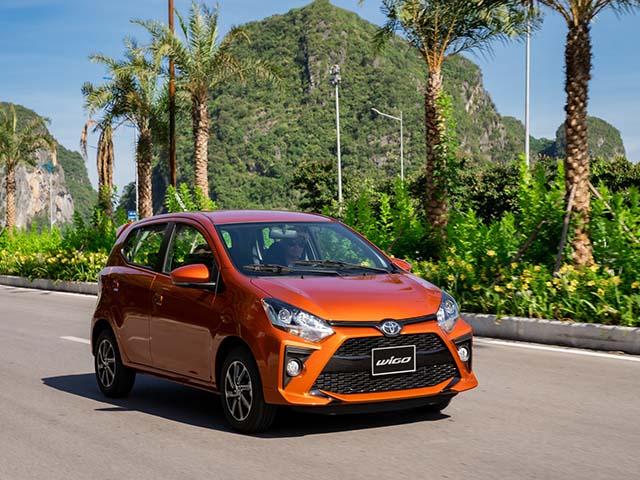 Giá xe Toyota Wigo lăn bánh tháng 5/2021