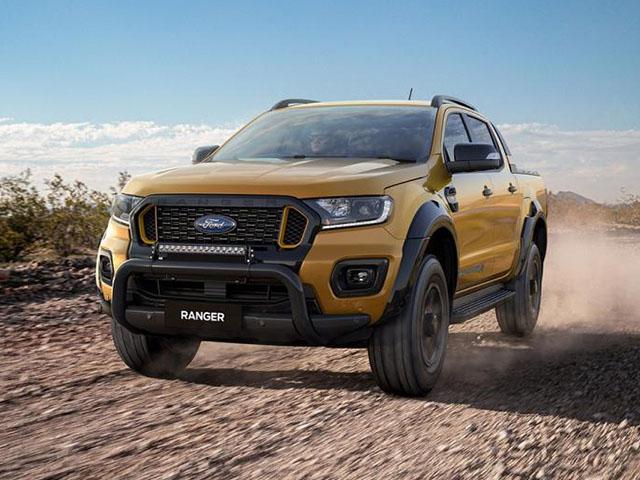 Giá xe Ford Ranger lăn bánh tháng 5/2021