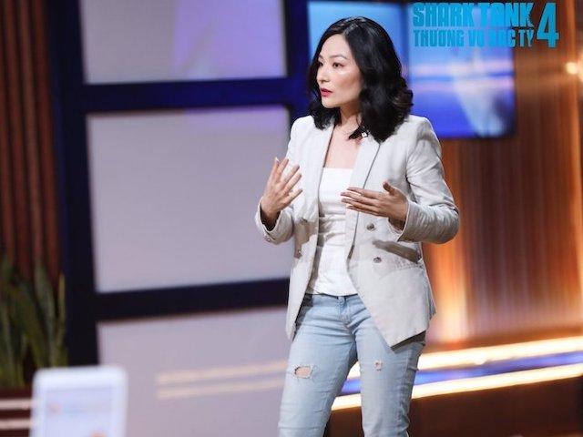 """Nữ CEO công nghệ xinh - xanh - sạch làm """"nóng"""" Shark Tank, """"cá mập"""" tranh giành"""