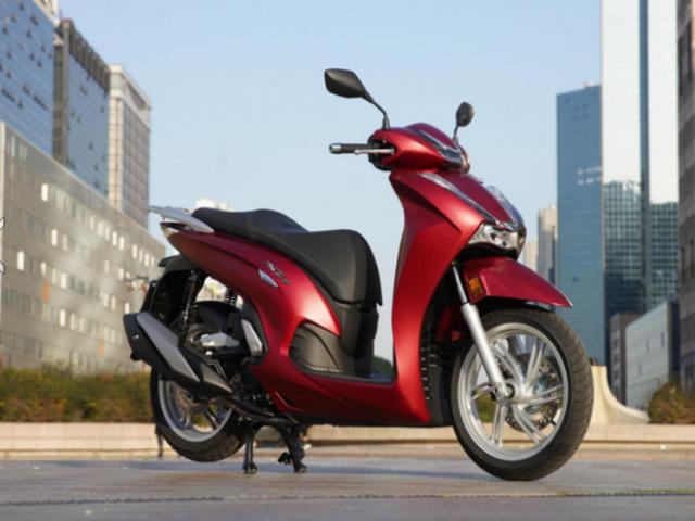 Cận cảnh siêu phẩm 2021 Honda SH 350i mê hoặc nhà giàu Việt