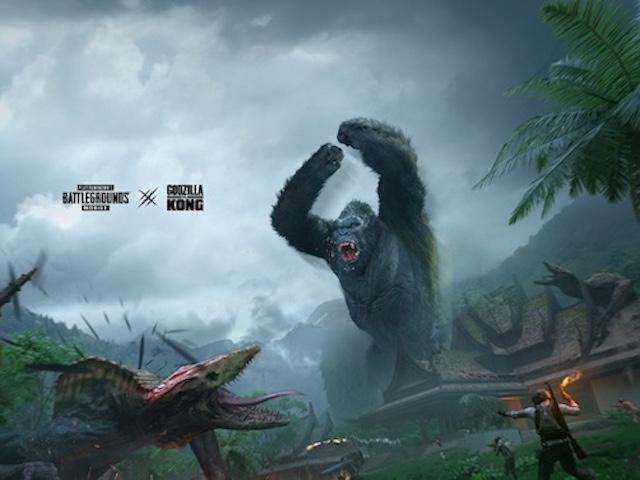 Siêu xe McLaren, quái vật Godzilla và Kong vào PUBG Mobile