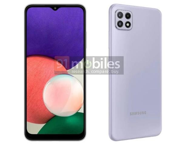 """Cặp """"em út"""" Galaxy A22 4G và 5G giá mềm sắp ra mắt của Samsung"""