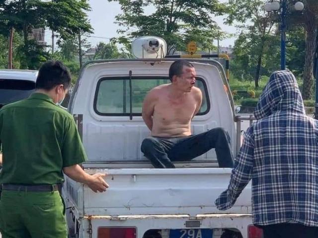 Kẻ trốn nã giết người khai lý do đâm trọng thương tài xế xe taxi ở Hà Nội