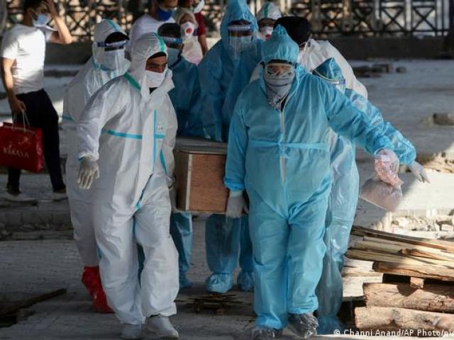 50 bác sĩ tử vong trong một ngày vì Covid-19 ở Ấn Độ