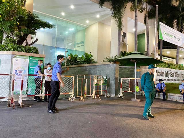 Tạm phong tỏa bệnh viện Hoàn Mỹ Sài Gòn vì có ca nghi nhiễm COVID-19