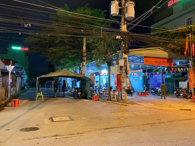 Bình Dương: Phong tỏa một con hẻm ở TP Dĩ An