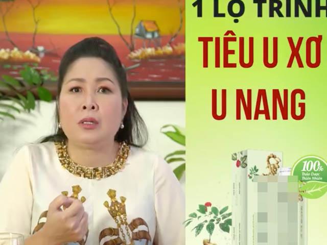 NSND Hồng Vân cúi đầu xin lỗi khán giả vì quảng cáo thuốc quá sự thật