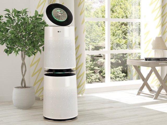 Đánh giá máy lọc không khí LG PuriCare 360 với loạt công nghệ độc đáo