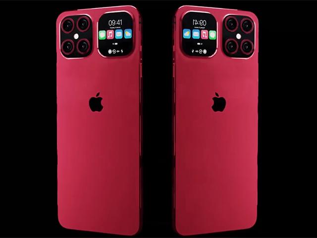 Fan lóa mắt với hình dung iPhone 13 Flip đẹp mê ly