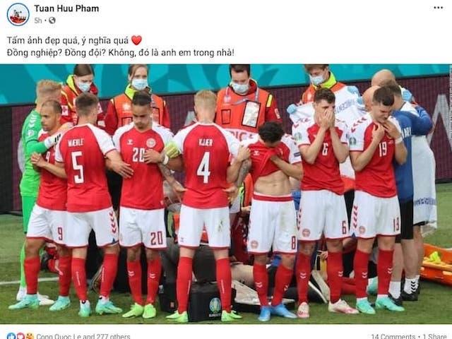 EURO: Siêu sao Đan Mạch Eriksen đột quỵ trên sân, cộng đồng mạng thảng thốt