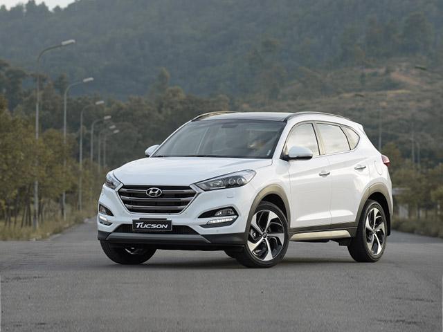 Giá xe Hyundai Tucson lăn bánh tháng 6/2021