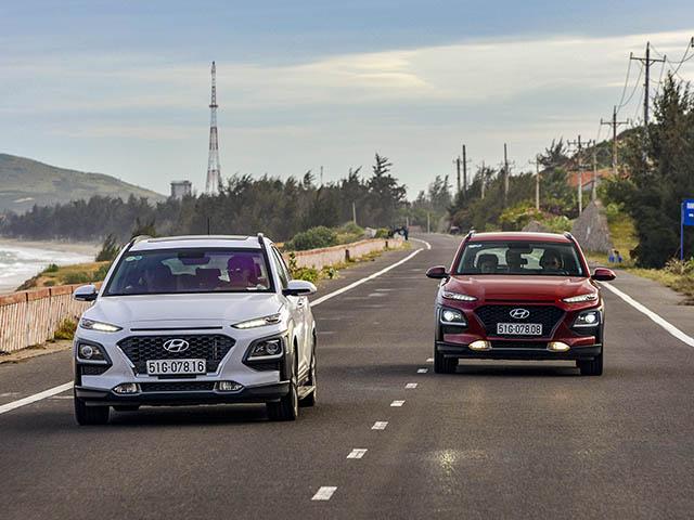 Hai dòng xe Hyundai Elantra và KONA hạ giá hơn 40 triệu đồng hút khách hàng