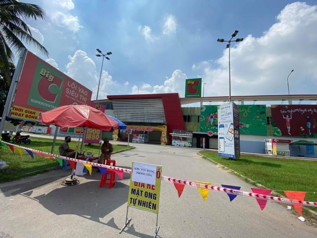 Tìm người đến siêu thị, chợ, quán phở có liên quan ca mắc COVID-19 ở Đồng Nai
