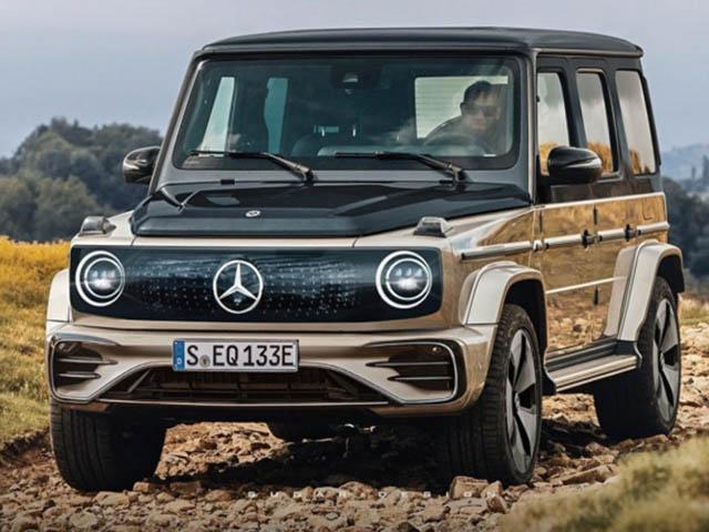 Bản sử dụng động cơ điện của Mercedes-AMG G63 sẽ ra sao khi ra mắt?