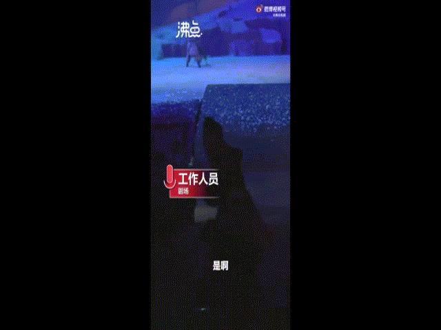 Video: Sói rượt đuổi người biểu diễn trong chương trình trực tiếp gây sốc ở TQ