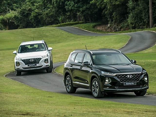 Một số đại lý ưu đãi Hyundai SantaFe đời cũ lên đến 150 triệu đồng