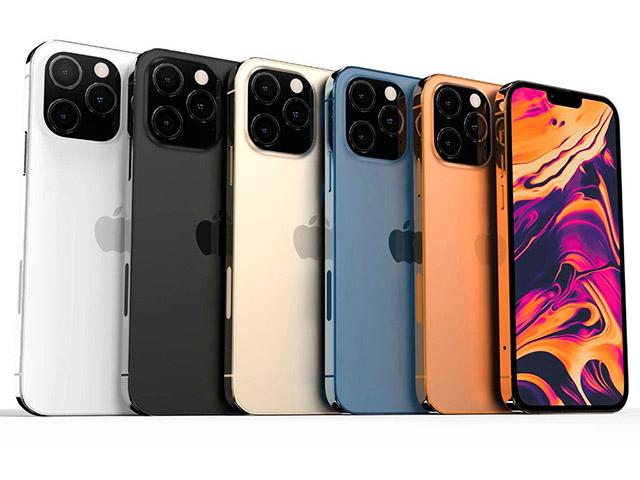 Bộ sưu tập đủ sắc màu của iPhone 13 khiến Fan tan chảy