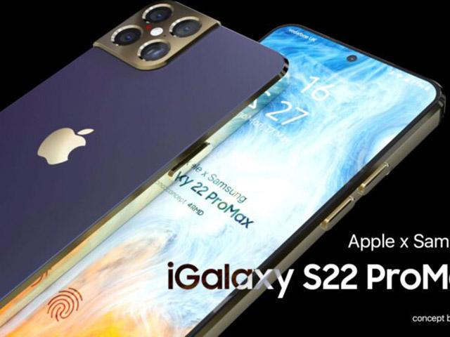 Ngỡ ngàng ý tưởng iGalaxy S22 Pro max chấp tất