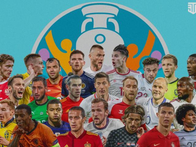 Lịch thi đấu bóng đá vòng 1/8 EURO 2020: Hà Lan đấu Cộng Hòa Séc, Bỉ gặp Bồ Đào Nha
