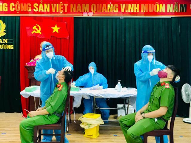 Cách ly trụ sở công an huyện ở Nghệ An vì một cán bộ mắc COVID-19