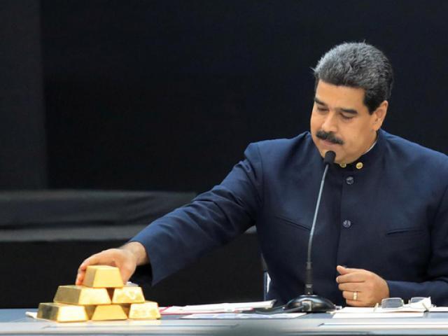 Anh bất ngờ trao kho vàng 1,8 tỉ USD của Venezuela cho lãnh đạo đối lập Juan Guaido
