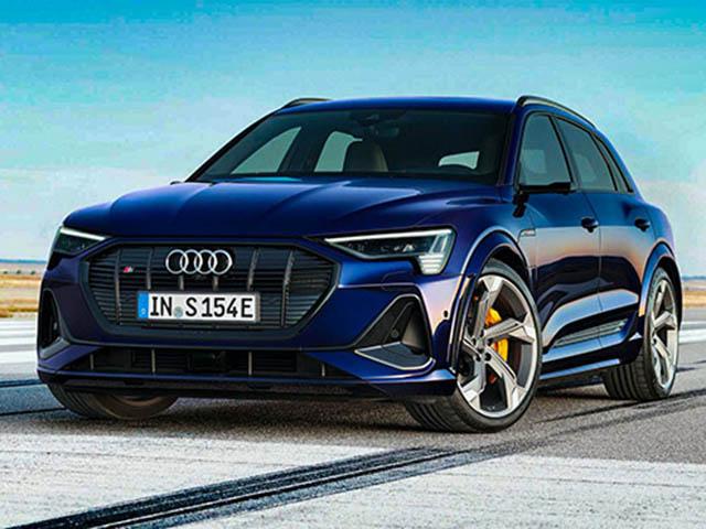 Audi trình làng thêm mẫu xe E-Tron S và biến thể Sportback sử dụng động cơ điện.