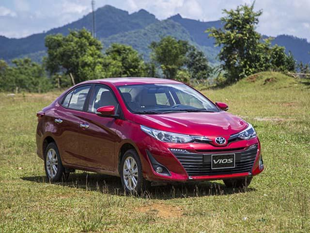 Giá xe Toyota Vios lăn bánh giảm 50% phí trước bạ tháng 7/2020