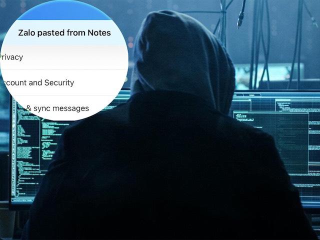 Vụ Zalo tự động đọc dữ liệu trên iPhone: Kỹ thuật phổ biến của hacker