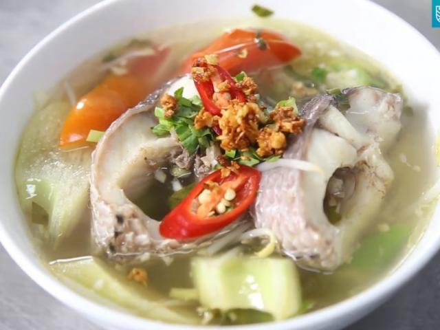 Cách làm canh chua cá lóc đơn giản, chuẩn vị cho bữa cơm ngày hè thêm hấp dẫn