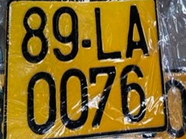 Các phương tiện kinh doanh vận tải phải thay đổi biển số mới vào đầu tháng 8/2020