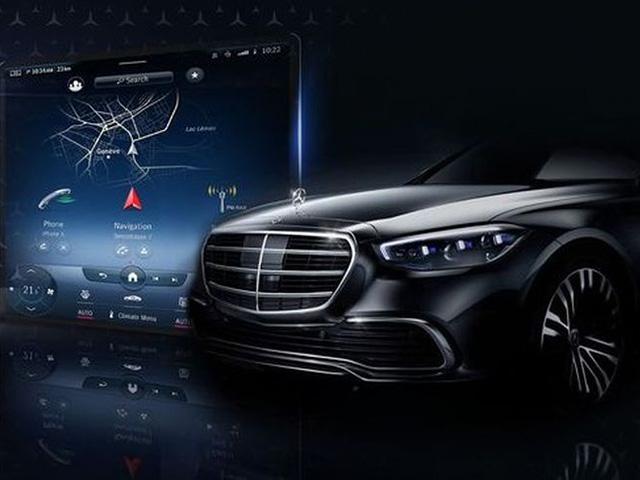 """Mercedes S-Class 2021 sẽ có màn hình cảm ứng trung tâm """"siêu lớn"""""""