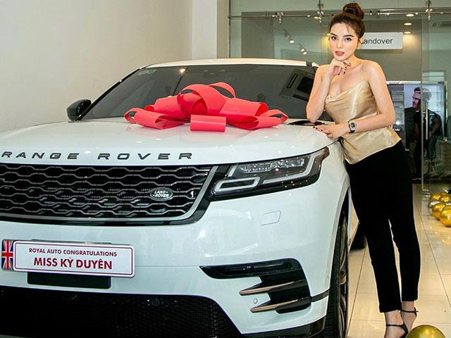 Hoa hậu Kỳ Duyên tậu Range Rover Velar giá 5,4 tỷ đồng